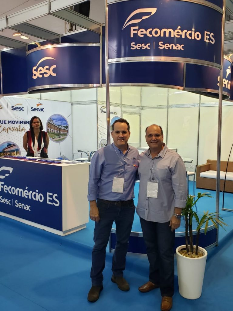 Acomac-ES/Sindmat visita Super Feira Acaps Panshow 2019